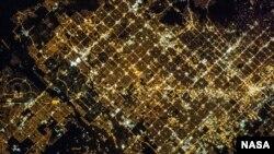 """""""Super View"""" wilayah Glendale dan Phoenix di Arizona yang baru dipublikasikan NASA (foto: dok)."""