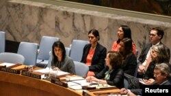 نیکی هیلی نماینده آمریکا در سازمان ملل متحد