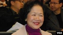 香港前政務司司長陳方安生(資料照片)