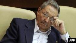 Президент Кубы Рауль Кастро (архивное фото)