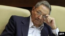 Chủ tịch Cuba Raul Castro (ảnh tư liệu)