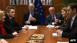 Kosova dhe Serbia në raundin e tetë të bisedimeve