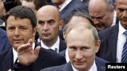 پوتین در ایتالیا - ۱۰ ژوئن ۲۰۱۵
