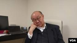 香港特首選舉參選人胡國興 (胡國興社交網站圖片)