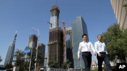 北京商业中心(资料照片)