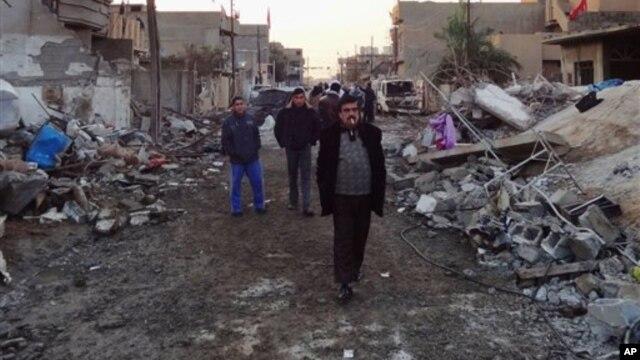 Mesto napada u Kirkuku