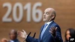 Le président de la Fifa, Gianni Infantino