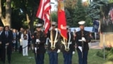Serbia, Belgrade, celebration of the Independence day in US embassy in Belgrade
