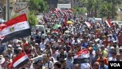 Pemerintah AS mendapat kecaman karena membiayai gerakan pro-demokrasi Mesir secara tidak selayaknya.
