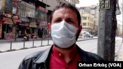 9 Nisan 2020 - Gaziantep, Suriyeli mülteci Cuma Muhammed