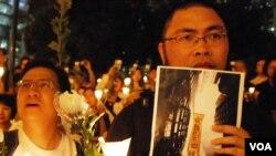最近在互聯網上發起聯署,要求北京當局嚴肅調查李旺陽死亡真相的傳媒工作者溫雲超