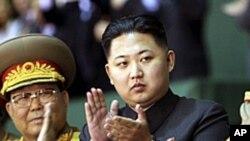 군 최고사령관으로 추대된 김정은(자료사진)