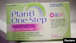 Pil Kontrasepsi Darurat Plan B One-Step yang juga dikenal sebagai Morning after Pill kini dapat dijual bebas tanpa resep dokter di Amerika bagi perempuan berusia 15 tahun ke atas (Foto: dok).
