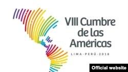 Logo 8èm Somè Dèzamerik la - Lima, Pewou, 2018.