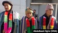 افغانستان میں لڑنے والے ازبک جنگجو (فائل)