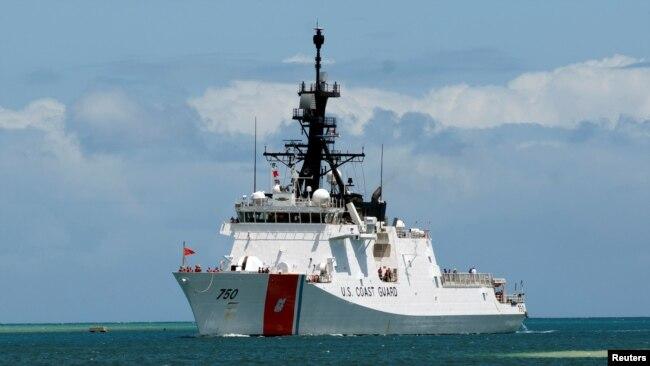 美海警船增加中国周边海域的警戒巡逻