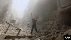 Kota Aleppo, Suriah utara porak-poranda dilanda oleh konflik (foto: ilustrasi).