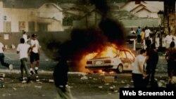 فیلم لس آنجلس 92ُ، برنامه شبکه نشنال جیوگرافیک