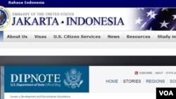 Peringatan Kedutaan Amerika tenting kemungkingan ancaman terhadap hotel-hotel dan bank-bank yang seeing dikunjungi orang Amerika di Surabaya.