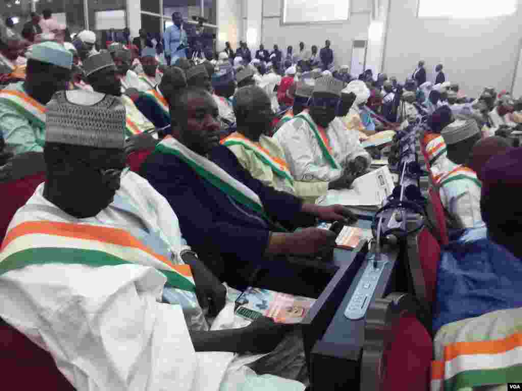 Hotunan zauren majalisar dokokin kasar Nijer Maris 05 2018