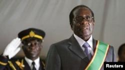 ဇင္ဘာေဘြ သမၼတ Robert Mugabe