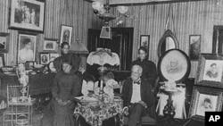 19世纪的纽约黑人聚居区