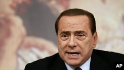 意大利總理貝盧斯科尼 (資料圖片)