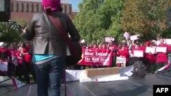 """Pristalice pokreta """"Okupiraj"""" u Vašingtonu"""