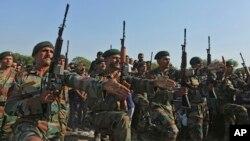Các binh lính của quân đội Ấn Độ