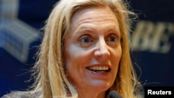 FILE - Lael Brainard, a member of the Fed's Board of Governors.