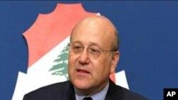 لبنان : وزیر اعظم کی استعفے کی دھمکی