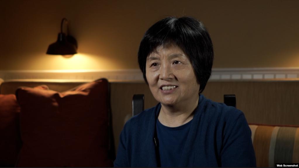 中共元老李銳的女兒李南央(网络截屏)