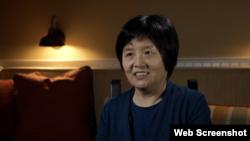 中共元老李銳的女兒李南央(莫干生拍摄)