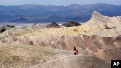Taman nasional Death Valley di California.