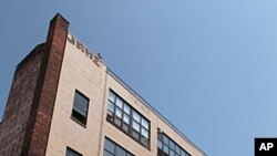 A loft building at 255 McKibbin Street in Brooklyn, New York is seen after the FBI searched residences and seized computers at this address and three others on Long Island, July, 19, 2011