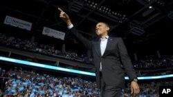 6일 미국 대통령 선거에서 재선에 성공한 바락 오바마 대통령. (자료사진)