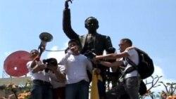 Líder venezolano se entrega a las autoridades