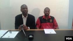 UMnu. Japhet Moyo loMnu. Peter Mutasa abenhlanganiso yeZCTU.