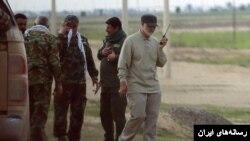 قاسم سلیمانی هدایت نیروهای تحت حمایت ایران را در سوریه و عراق بر عهده دارد.