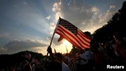 Người biểu tình kêu gọi cải tổ luật di trú tại thủ đô Washington.