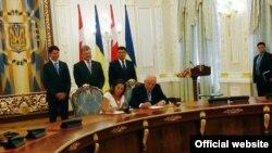 Підписання угоди про зону вільної торгівлі