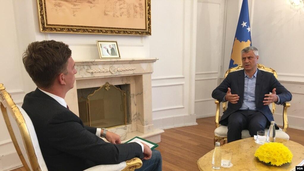Thaçi: Jo ndarjes – Po bashkimit të Preshevës me Kosovën