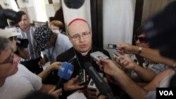 El cardenal Ortega medió el año pasado para la excarcelación de 115 presos políticos en Cuba.