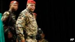 Sébouka Konaté le 21 septembre 2010 à Conakry, Guinée. (AP Photo / Jerome Delay)