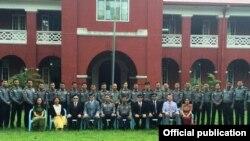 အေမရိကန္ျပည္ေထာင္စု စုံစမ္းစစ္ေဆးေရးဗ်ဴရုိ (FBI) ႏွင့္ ျမန္မာႏုိင္ငံရဲတပ္ဖြဲ႔ဌာနခ်ဳပ္တုိ႔ ပူးေပါင္းအလုပ္ရုံေဆြးေႏြးပြဲတခုလုပ္ရန္ ေဆာင္ရြက္(U.S. Embassy Rangoon)