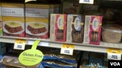 Amerikanci se sve više opredeljuju za hranu bez glutena koja se sada može naći u gotovo svim prodavnicama