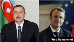 İlham Əliyev və Fransua Makron