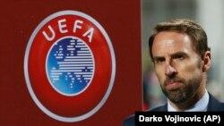 Selektor engleske reprezentacije Garet Sautgejt pred utakmicu sa Crnom Gorom