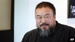 Chinese artist Ai Weiwei (February 2012 file photo)