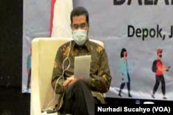 Amirudin, Wakil Ketua Eksternal Komnas HAM. (Foto: VOA/Nurhadi Sucahyo)